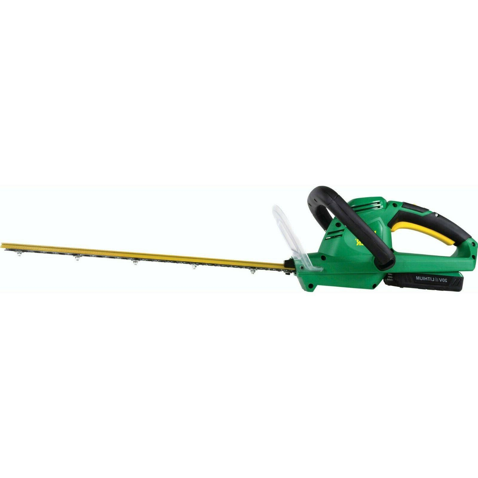 Long Hedge Trimmer Cordless Bush Trimmers Edger Edgers 20 Vo