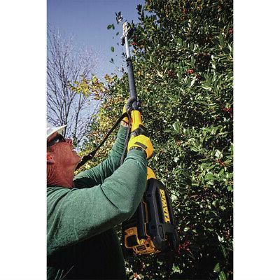 Dewalt 40v Ah Pole Hedge Trimmer