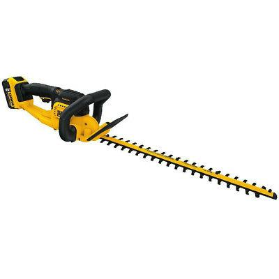 "DEWALT 20V MAX 5.0 Ah Li-Ion 22"" Hedge Trimmer DCHT820P1 New"