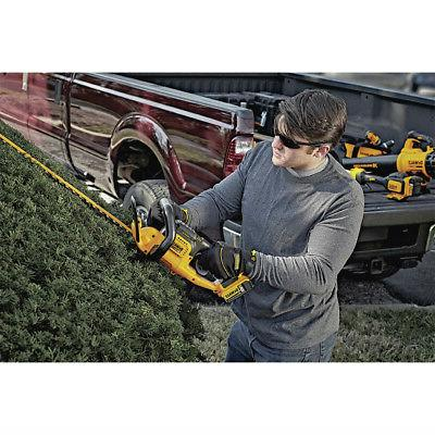 "DEWALT MAX Ah Li-Ion 22"" Hedge Trimmer"