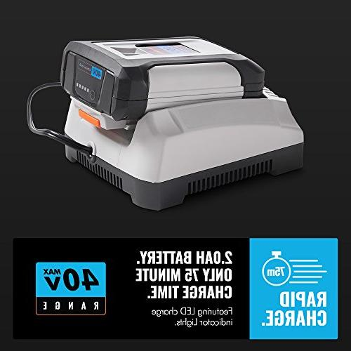 Dual Action Trimmer 2.0Ah Battery and Included