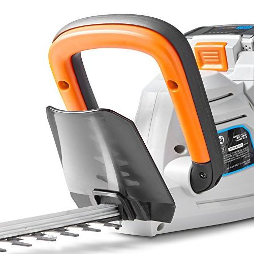 VonHaus Dual Cordless Hedge Trimmer with Battery Charger