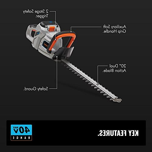 """VonHaus 20"""" Dual Cordless Trimmer with Included"""