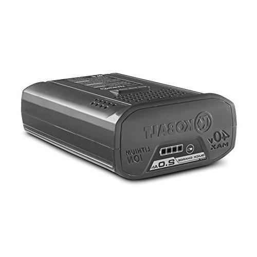 Kobalt 40v Max Li-Ion 2.0 Quick Battery
