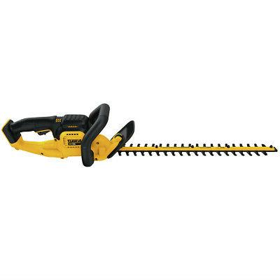 Dewalt 20v 22 In. Hedge Trimmer DCHT820B New