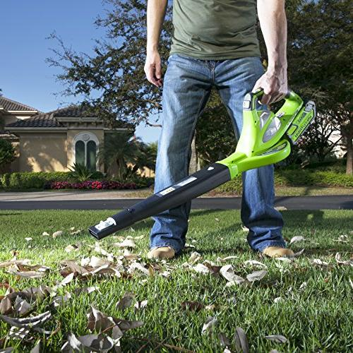 Greenworks 40V 150 MPH Variable Cordless Blower, 2.0 AH Included 24252
