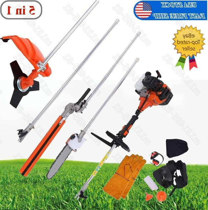 multifunctional 5 in 1 52cc chainsaw brush