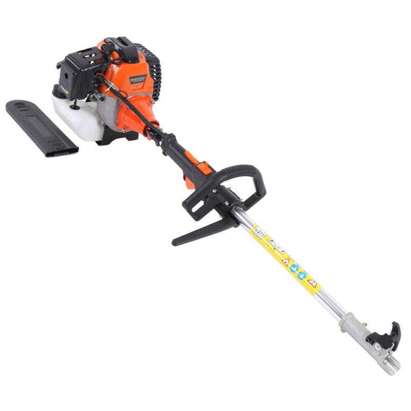 5 in Petrol Hedge Trimmer Chainsaw Brush Cutter Pole Multi