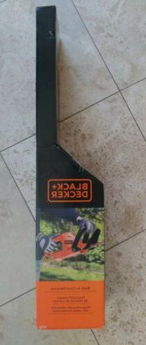 New BLACK DECKER HT22 Corded Hedge Trimmer 110 Volt Electric