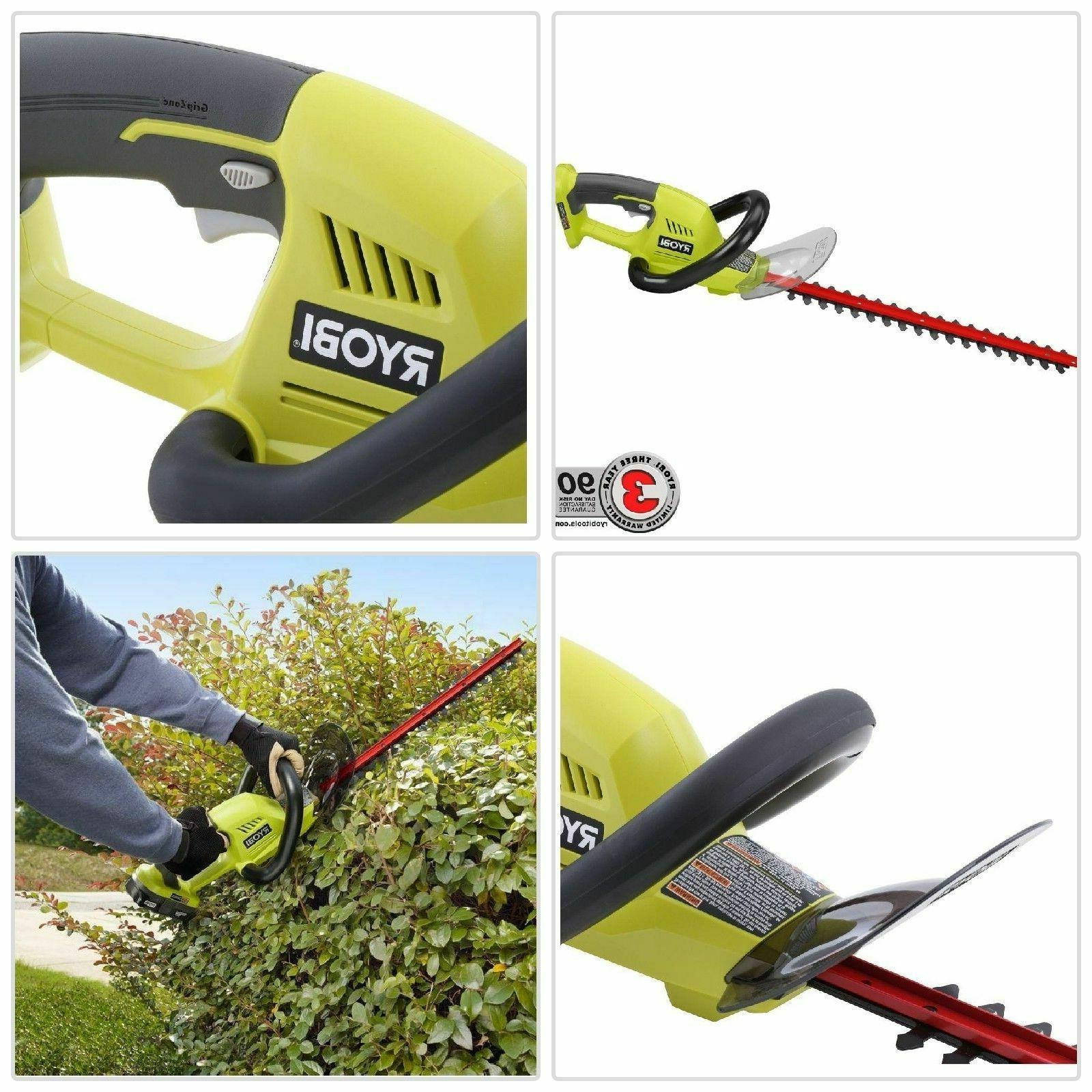 Ryobi 18 Cordless Hedge Trimmer without Battery Charger