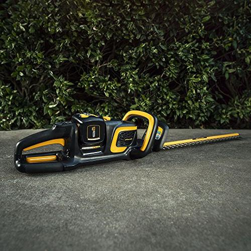 Poulan Pro PRHT22i, 22 in. Cordless Hedge Trimmer