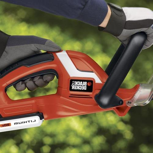Factory Decker LHT2220R 20V Cordless Lithium-Ion in. Dual Action Electric Hedge