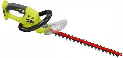 Ryobi Cordless Hedge Trimmer 18V Dual Action Blades Cut Bush