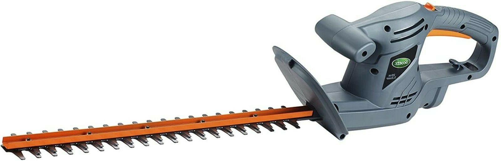 scotts electric hedge trimmer outdoor power tools