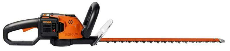 Worx Wg268 40-Volt Lithium Cordless Hedge Trimmer, Battery A