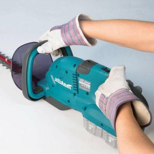 Makita XHU04Z 18V X2 LXT Lithium-Ion Cordless Hedge Trimmer,...