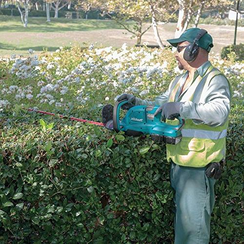 Makita XHU04Z 18V LXT Lithium-Ion Cordless Hedge Trimmer, Tool