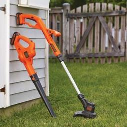 BLACK+DECKER LCC222 20V MAX Lithium String Trimmer/Edger, Sw