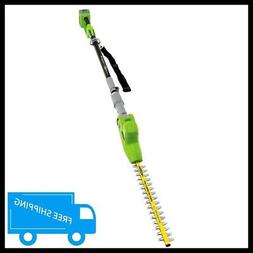 Earthwise LPHT12017 17-Inch 20-Volt Lithium Ion Cordless Pol