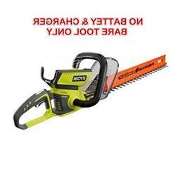 Ryobi 22 inch 40-Volt Lithium-ion Cordless Hedge Trimmer ONL