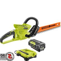 Ryobi 24 in 40-Volt Lithium-Ion Cordless Hedge Trimmer - 2.6