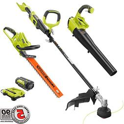 Ryobi Gas-Like Power 40-Volt Lithium-Ion Cordless Trimmer/Bl
