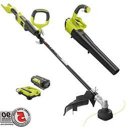 Ryobi Gas-Like Power 40-Volt Lithium-Ion Cordless Trimmer/Je
