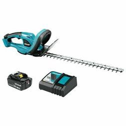 "18V LXT Lithium-Ion Cordless 22"" Hedge Trimmer Kit Makita XH"