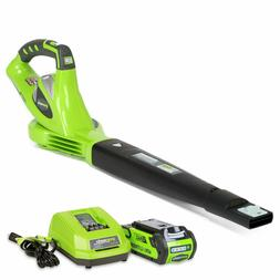 Greenworks 40V 150 MPH Variable Speed Cordless Blower, 2.0 A