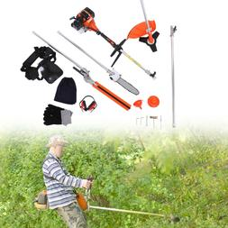 Multifunctional 5 in 1 52cc Petrol Hedge Trimmer Chainsaw Br