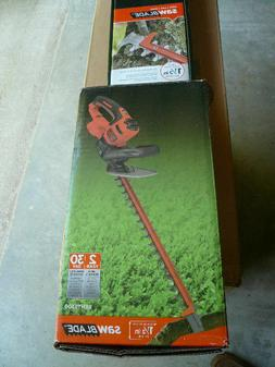 NEW!!  BLACK+DECKER 20 in. 3.8-Amp Corded Electric Hedge Tri