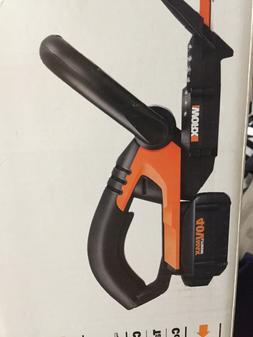 NEW WG280 WORX 40 V olt Cordless Hedge Trimmer  BATTERY/CHAR