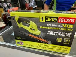 RYOBI ONE Best Hedge Trimmer Grass Shear Battery/Charger Inc