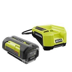 Ryobi OP4026 40-Volt Lithium-ion Battery and OP400A 40 Volt