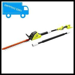 RYOBI Pole Hedge Trimmer 18 in. 40-Volt Lithium-Ion Cordless