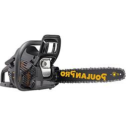Poulan Pro PR4218, 18 in. 42cc 2-Cycle Gas Chainsaw, Case In