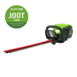 Greenworks Pro Dual Cordless Hedge Trimmer 60-volt 24-in