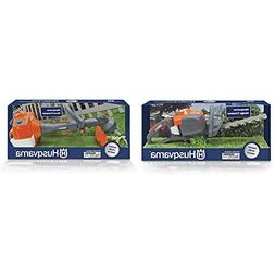 Husqvarna Toy Hedge Trimmer and Toy String Trimmer Combo Pac