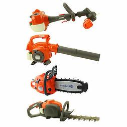 Husqvarna Toy Kids Battery Operated Tools - Chainsaw, Blower
