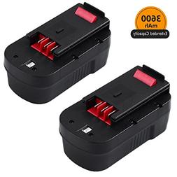 3.6Ah Ni-Mh Replace for Black and Decker 18V Battery HPB18