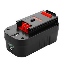 Energup Upgraded 5000mAh Lithium Black & Decker 18V Replacem