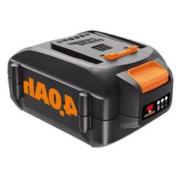 WORX WA3578 20V MaxLithium 4.0 Ah Battery for Trimmer, Hedge