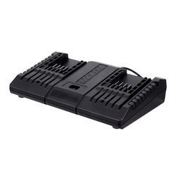 WORX WA3875  20V/18V Dual Port Battery Charger for Trimmer,H