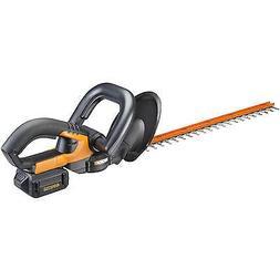 "WORX WG280 40V MaxLithium Cordless Powershare 20"" Hedge Trim"