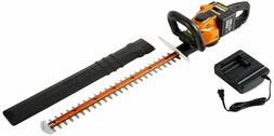 "Worx Wg291 56V 24"" Cordless Electric Hedge Trimmer"