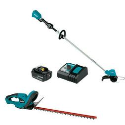 Makita XRU11M1 18V LXT String Trimmer Kit with Free XHU02Z H